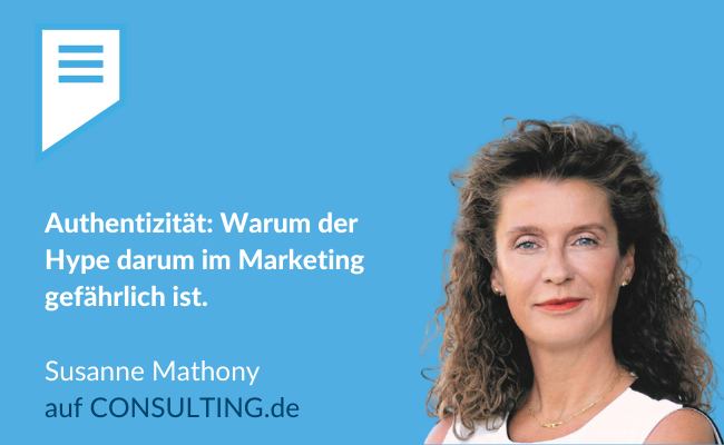 Susanne Mathony: Authentizität im Marketing (Bild: SNFV GmbH)